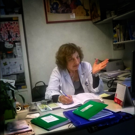 La dottoressa Caterina
